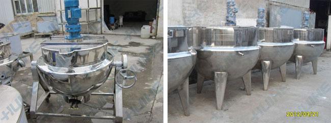 搅拌式糖设备(夹层锅)